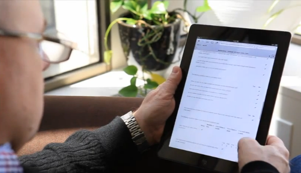 The Valant Behavioral Health EHR - Mobile notes on iPad