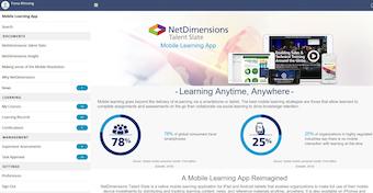 Talent slate mobile app