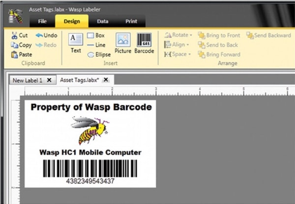 Barcode labeler