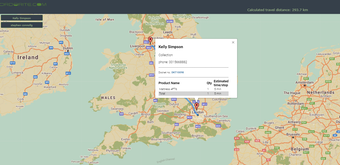 Delivery route planner image