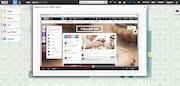 Wix HTML editor screenshot