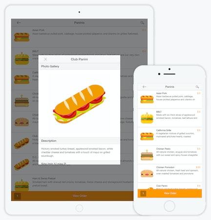 Ordering app