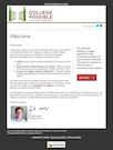 Scholarship fund marketing-email