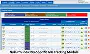 Custom job tracking