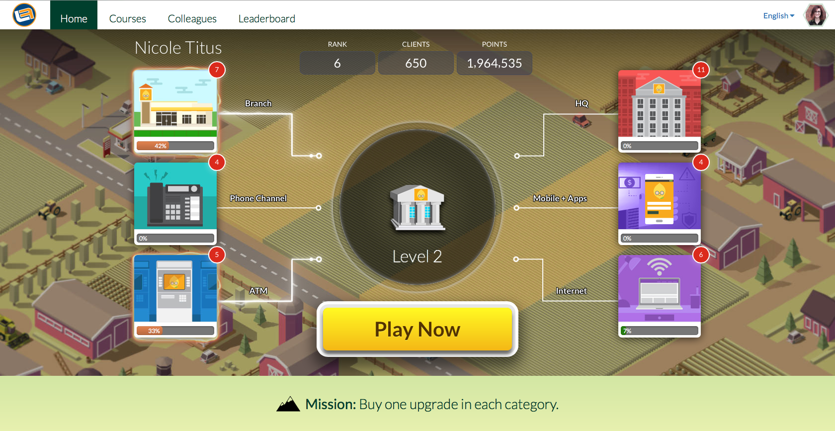Gamified learning