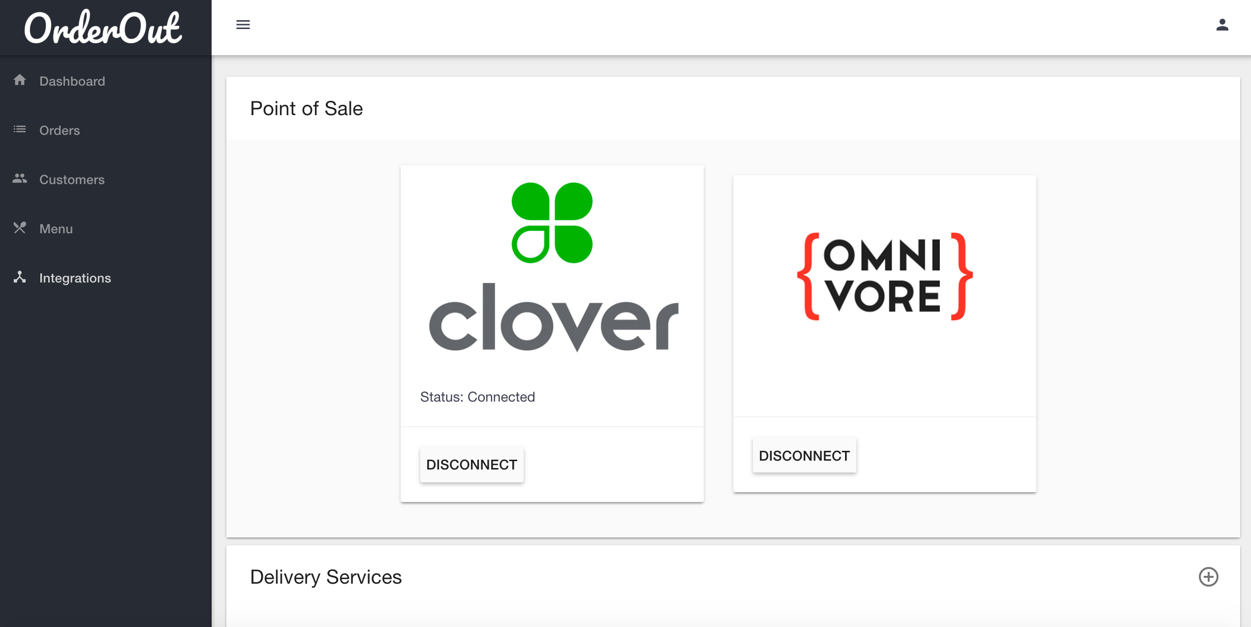 Point of sale integrations