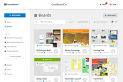 Conceptboard centralized content