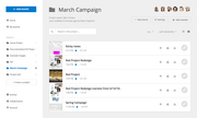 Conceptboard - Project list