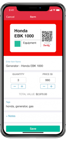 Mobile inventory tracking