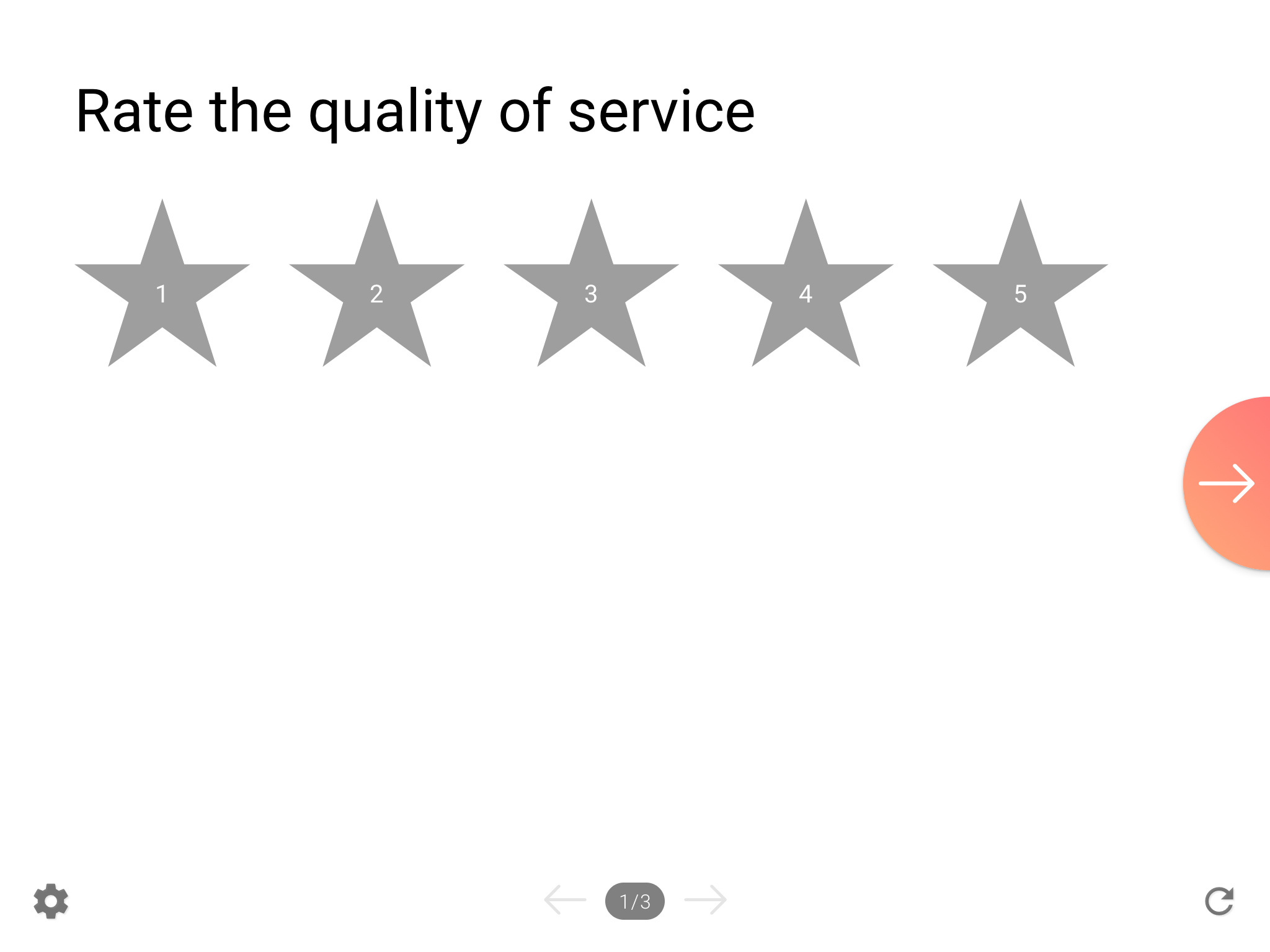 Star rating