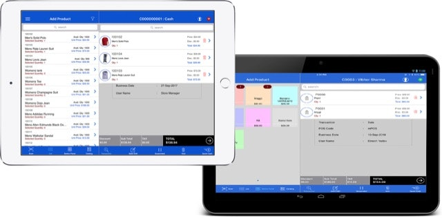 mPOS- Android and iOS
