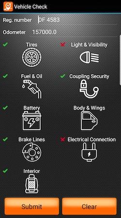 Vehicle check