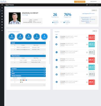 User profile view