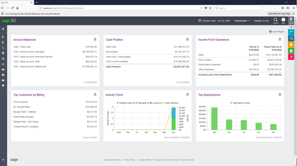 Sage 300cloud Software - 2019 Reviews, Pricing & Demo