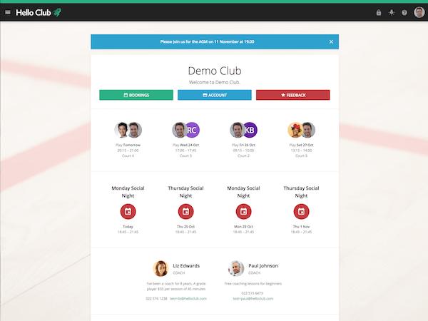 Portal page