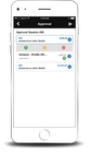 Paramount WorkPlace - Mobile requisition view