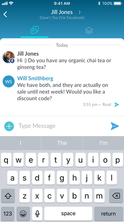 IOS Facebook chat
