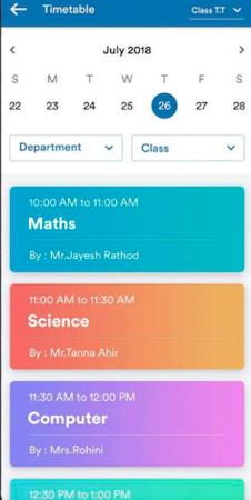 MyClassCampus Schedule
