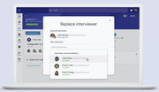 Hire by Google - Replace interviewer
