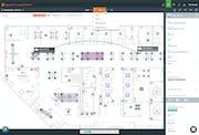 SpaceIQ - Department floor plan layout