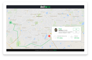 Customer delivery tracking