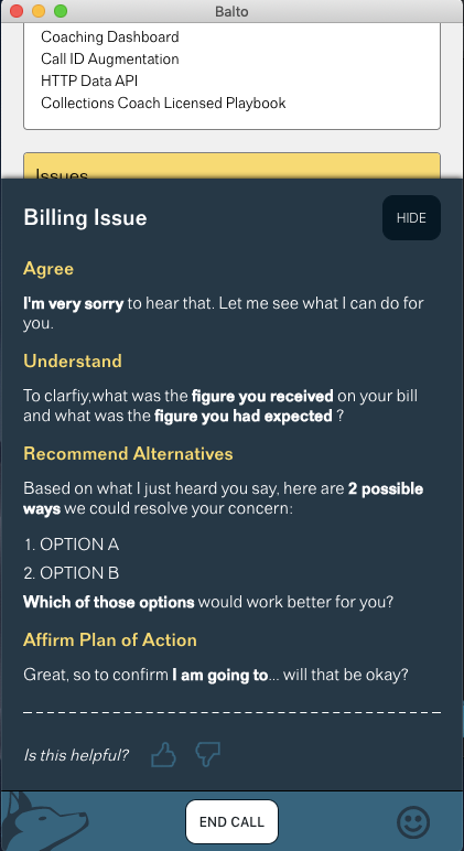 Billing issue