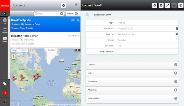 Maps integration