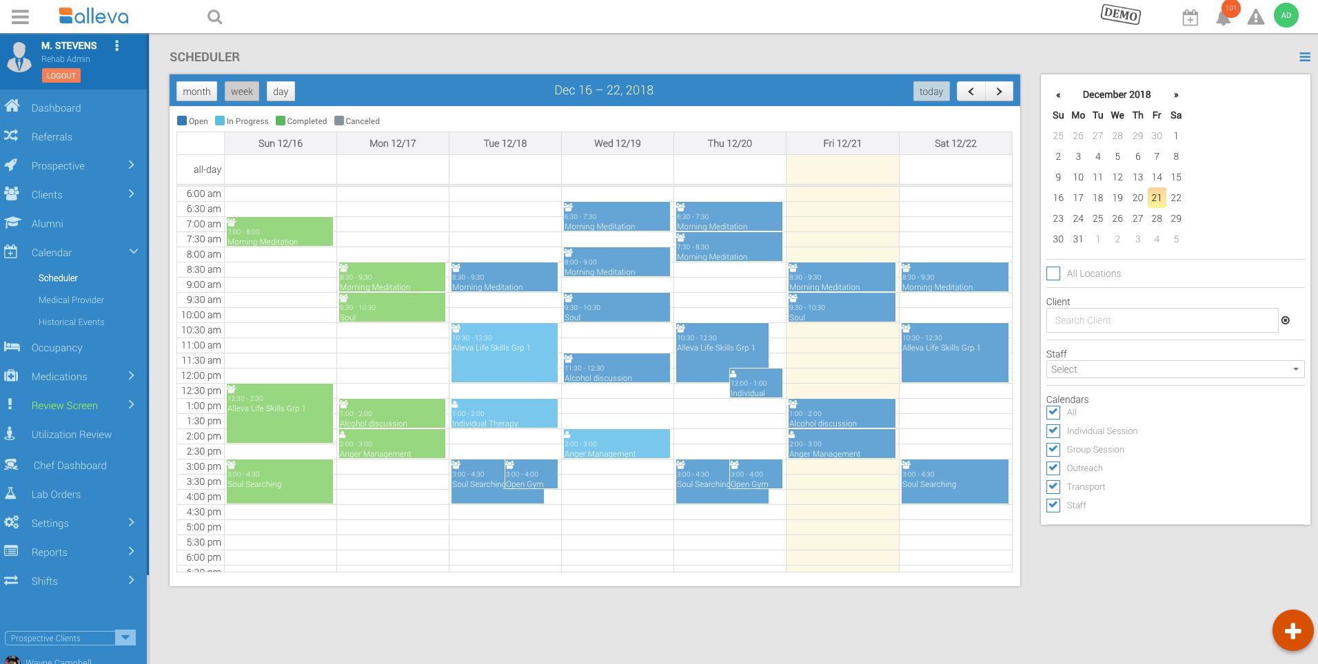 Alleva - Calendar Ss