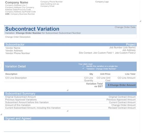 Jonas Premier subcontracts