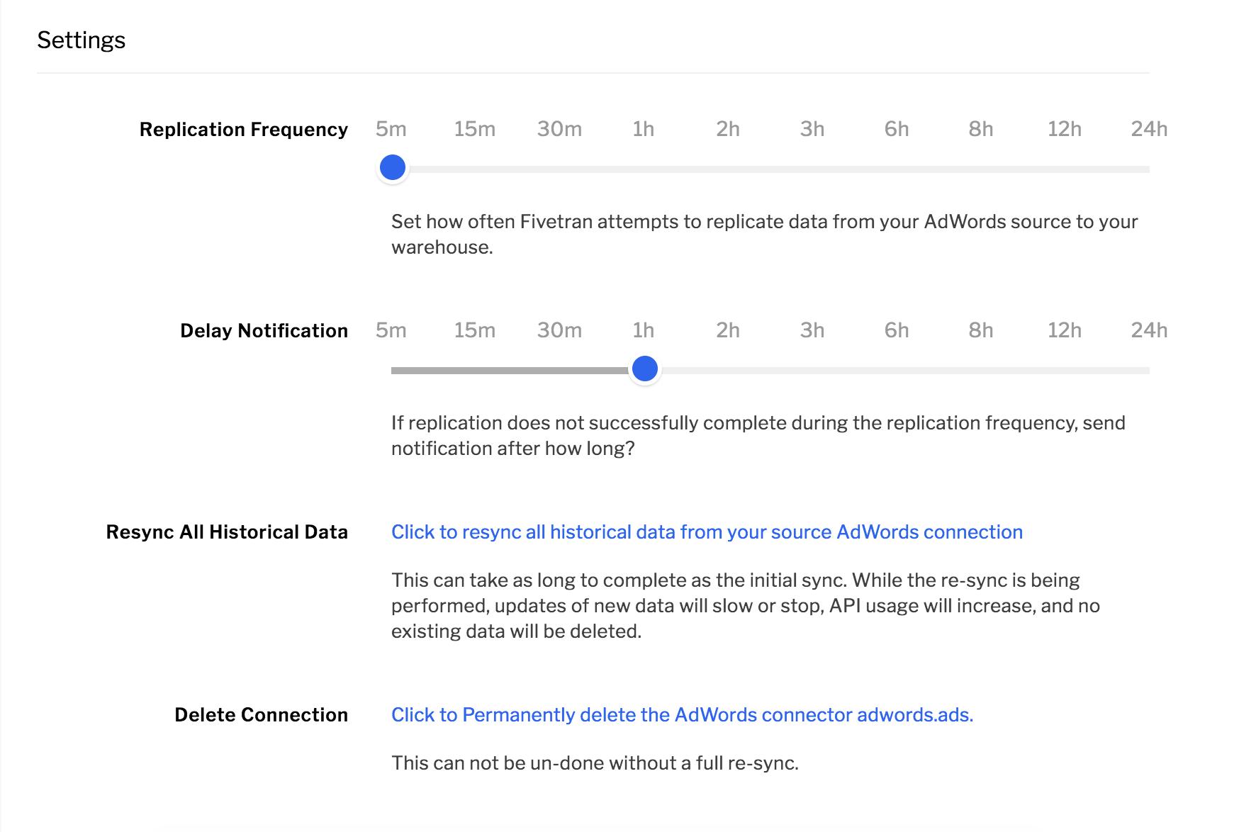 Fivetran - Data replication process