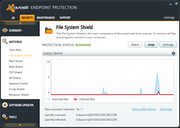 avast! Endpoint Protection - File and program monitor