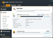 avast! Endpoint Protection - Scanning options