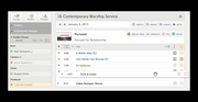 Service schedule dashboard