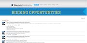 Bidding opportunities