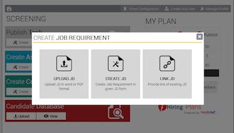 Job requirement creator