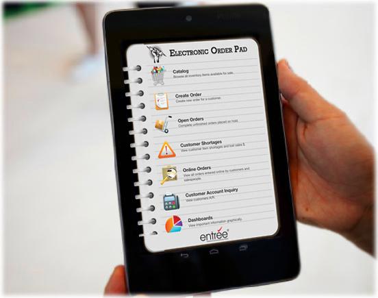 Entree Mobile App