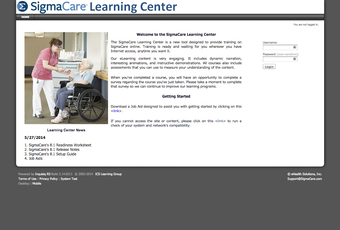 Learning center site