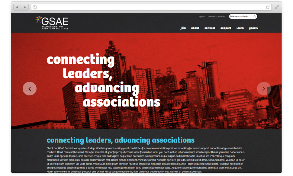 Custom-branded member sites