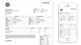 Invoicing and documents
