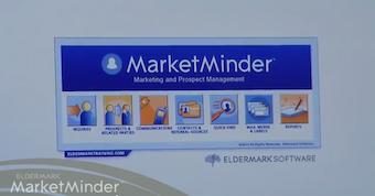 Market Minder homescreen