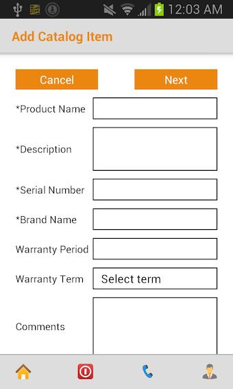 Add catalog item