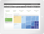 Qlik Sense oncentration analysis