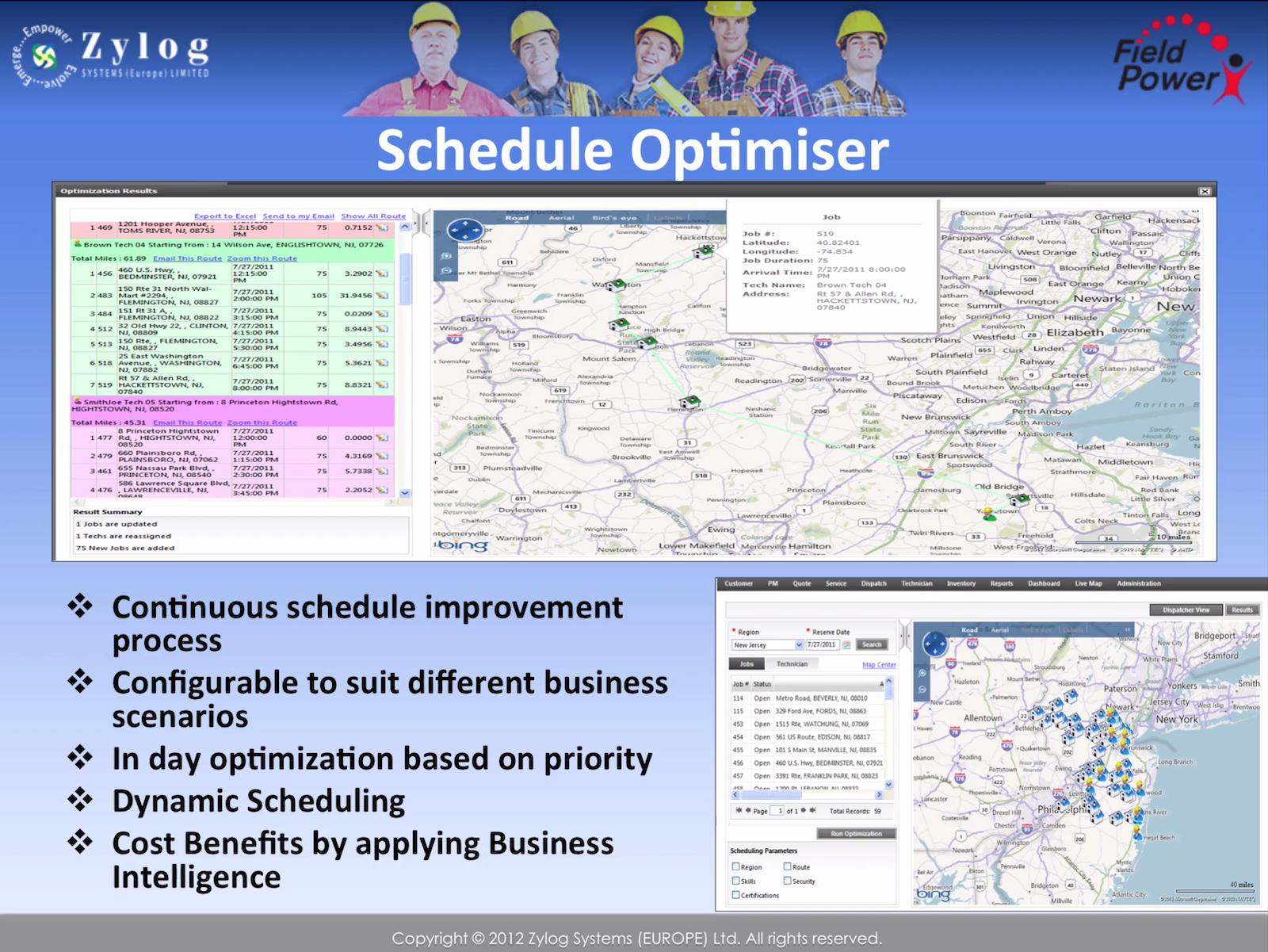 Schedule optimizer