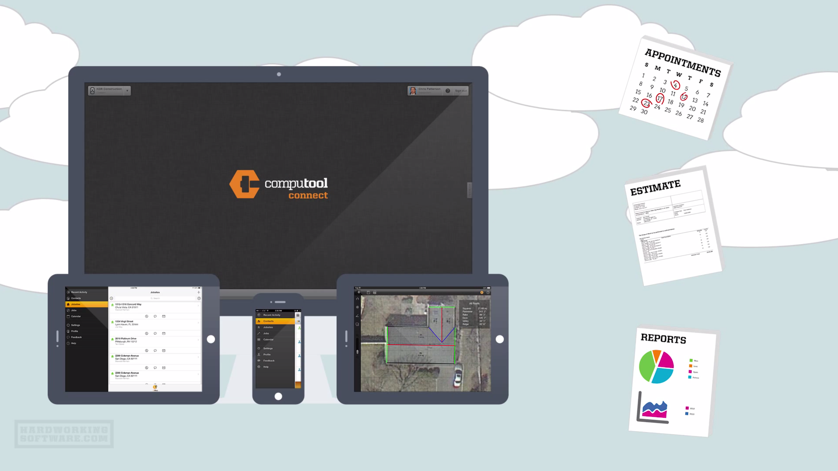 CompuTool Connect - Mobile access