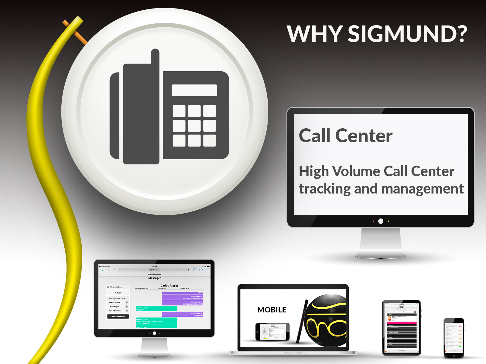 Call Center feature