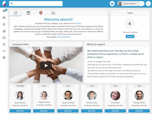 Onboarding and lifecycle management