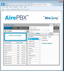 AirePBX - Click-to-dial
