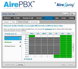 AirePBX - Scheduling rules