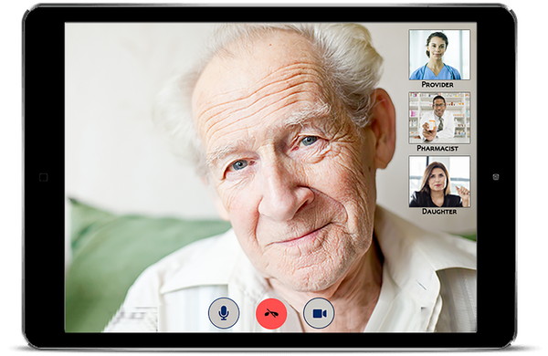 Patient access to providers via video