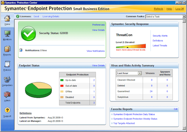 Symantec Endpoint Protection for Small Business - Overview